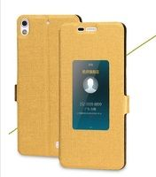 Husa ALLVIEW X2 SOUL MINI stil carte - gold