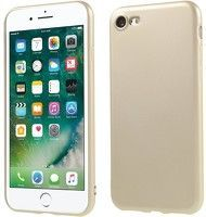 Husa Color Soft TPU Cover Iphone 7 - gold