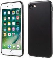 Husa Color Soft TPU Cover Iphone 7 - negru