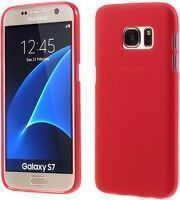 Husa Color Soft TPU Cover Samsung Galaxy S7 - rosu