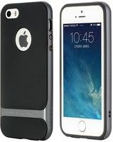 Husa Iphone 5 5S Rock Royce Ultra Slim Hybrid - gri