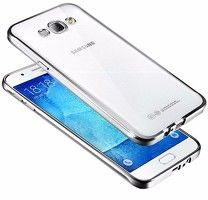 Husa  Samsung Galaxy J5 2016 Silicon TPU Plating Ultra Thin - argintiu