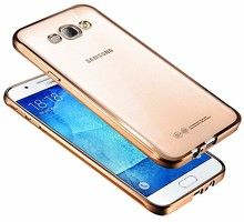 Husa  Samsung Galaxy J5 2016 Silicon TPU Plating Ultra Thin - gold