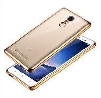 Husa Silicon TPU Plating Ultra Thin Xiaomi Redmi Note 3 - gold