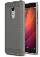 Husa Tpu Carbon Fibre Brushed Xiaomi Redmi Note 4 - gri