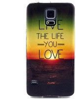 Husa TPU Live the Life Samsung Galaxy S5