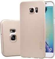 Husa Nillkin Frosted Shield Samsung Galaxy S6 Edge - gold