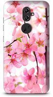 Husa Allview X4 Soul Custom Hard Case Pink Flowers
