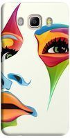 Husa Custom Hard Case Color Face Samsung Galaxy J5 2016