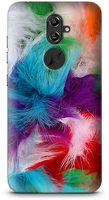 Husa Allview X4 Soul Custom Hard Case Color Feathers
