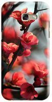 Husa Samsung Galaxy A5 2017 Custom Hard Case Cherry Flowers