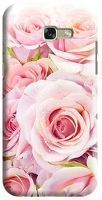 Husa Samsung Galaxy A5 2017 Custom Hard Case Fresh Pink Roses