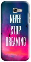 Husa Samsung Galaxy A5 2017 Custom Hard Case Never Stop