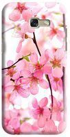 Husa Samsung Galaxy A5 2017 Custom Hard Case Pink Flowers