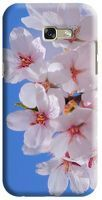 Husa Samsung Galaxy A5 2017 Custom Hard Case White Flowers