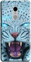 Husa Xiaomi Redmi Note 4 Custom Hard Case Blue Beast