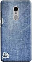 Husa Xiaomi Redmi Note 4 Custom Hard Case Blue Jeans