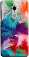 Husa Xiaomi Redmi Note 4 Custom Hard Case Color Feathers