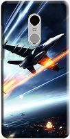 Husa Xiaomi Redmi Note 4 Custom Hard Case Plane Combat