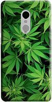 Husa Xiaomi Redmi Note 4 Custom Hard Case Weed