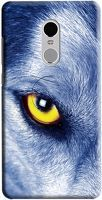 Husa Xiaomi Redmi Note 4 Custom Hard Case Wolf Eye