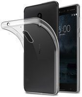 Husa Nokia 6 Silicon TPU extra slim 0.5mm - transparent