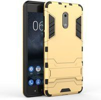 Husa Nokia 6 Slim Armour Hybrid - gold