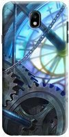 Husa Samsung Galaxy J7 2017 - Custom Hard Case Blue Steampunk
