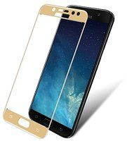 Sticla Securizata Full Screen Samsung Galaxy J7 2017 - gold