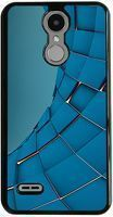 Husa LG K4 - 2017 - Custom Hard Case - Blue Square