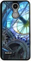 Husa LG K4 - 2017 - Custom Hard Case - Blue Steampunk