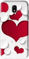 Husa Samsung Galaxy J5 2017 Custom Hard Case Heart Shape