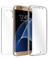 Husa  Samsung Galaxy S6 Edge Silicon TPU 360 grade - transparent