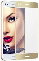 Folie Sticla Securizata Full Screen Huawei P9 Lite Mini 2017 - gold
