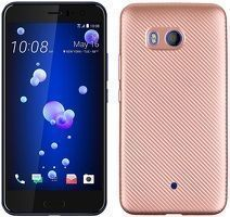 Husa HTC U11 - Tpu Carbon - rose gold