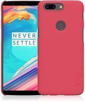 Husa OnePlus 5T Nillkin Frosted - rosu