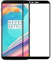 Sticla Securizata Full Screen (Full Glue) OnePlus 5T - margini negre