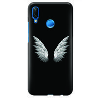 Husa Huawei P20 Lite   Custom Hard Case - Angel wings