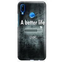 Husa Huawei P20 Lite Custom Hard Case - Better Life