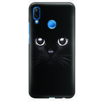 Husa Huawei P20 Lite Custom Hard Case - Black Cat