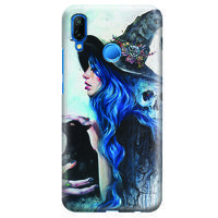 Husa Huawei P20 Lite   Custom Hard Case - Blue Witch
