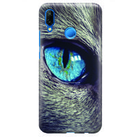 Husa Huawei P20 Lite Custom Hard Case - Cat Eye