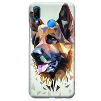 Husa Huawei P20 Lite   Custom Hard Case - Dog.1