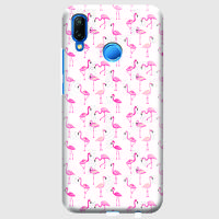 Husa Huawei P20 Lite Custom Hard Case - Flamingo 2