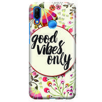 Husa Huawei P20 Lite   Custom Hard Case - Good Vibes 2