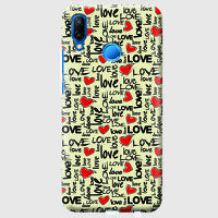 Husa Huawei P20 Lite Custom Hard Case - Love Pattern.2