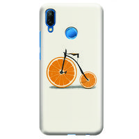 Husa Huawei P20 Lite   Custom Hard Case - Orange Bicycle