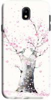 Husa Samsung Galaxy J7 2017 - Custom Hard Case -   Blossoms Tree