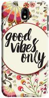 Husa Samsung Galaxy J7 2017 - Custom Hard Case -Good Vibes 2