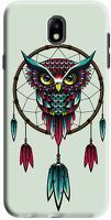 Husa Samsung Galaxy J7 2017 - Custom Hard Case -  Owl Dreamcatcher
